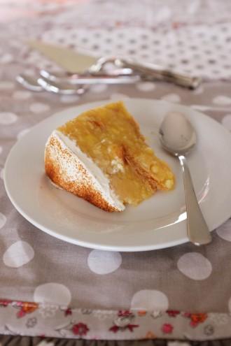 Jablková torta nepečená