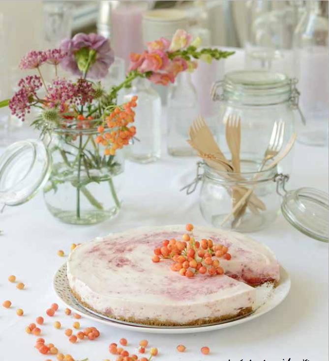 jahodovy cheesecake