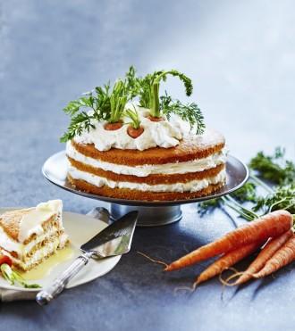 Mrkvová torta bez múky Foto: Alex Rymšinová