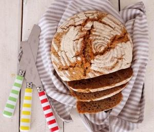 Chrumkavy kváskový chlieb